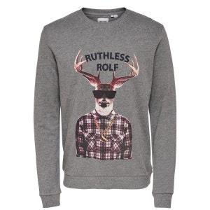 Sweat-shirt Noël ONLY ET SONS