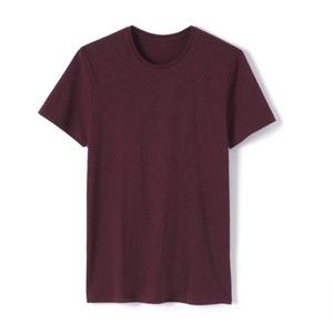 T-shirt met ronde hals in zuiver mêleekatoen R essentiel