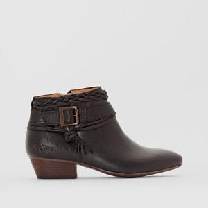 Boots en cuir avec boucles WESTBOOTS KICKERS