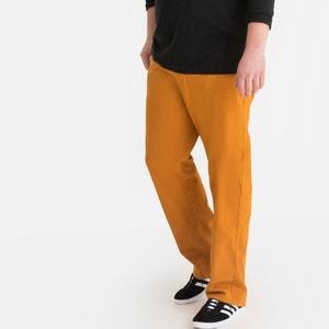 Rechte broek met elastische taille