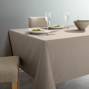 Anti-Stain Plain Cotton Tablecloth SCENARIO