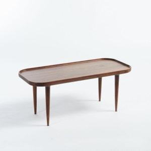 Table basse noyer massif Magosia, petit modèle AM.PM