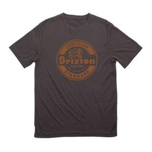 T-shirt Brixton Soto Tee Indian Noir BRIXTON