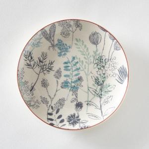 Set van 4 dessertborden met plantenmotief La Redoute Interieurs