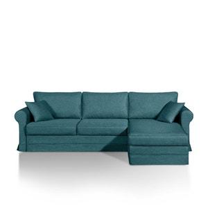 Canapé-lit d'angle Yukata, couchage express, aspect cuir La Redoute Interieurs