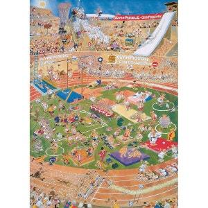 Jan van Haasteren - Puzzle Comic 1000 Jeux Olympiques - DIS01666 JUMBO