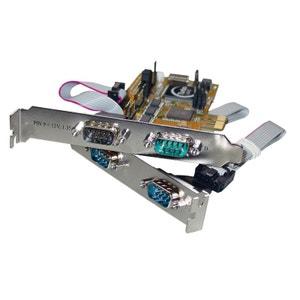 Carte PCI express série RS232 - 4 ports DB09 mâle SENNHEISER