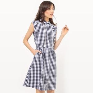 Kleid mit Kragen, Vichy-Muster MADEMOISELLE R