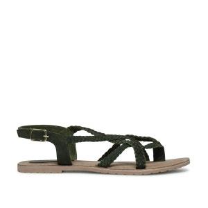 Sandales avec brides tressées SACHA