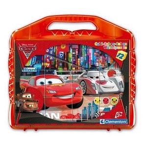 Cars 2 - Cubes 12 Pièces - CLE41160.3 CLEMENTONI