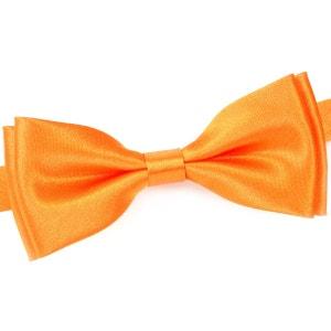 Noeud papillon uni Orange DANDYTOUCH
