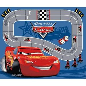 Tapis circuit Flash McQueen Cars Disney WALLTASTIC