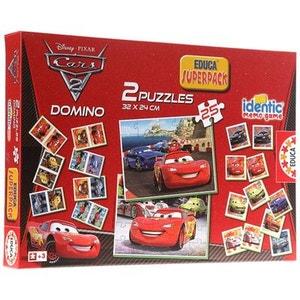 Superpack Cars 2 : Memory, puzzles et dominos EDUCA