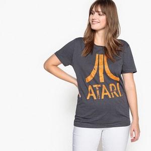 T-shirt de gola redonda, mangas curtas ATARI