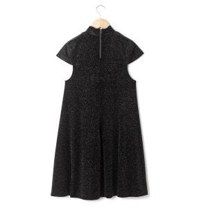 Vestido formato trapecio, de terciopelo y estrás FRENCH CONNECTION