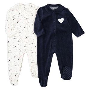 Set van 2 pyjama's geboorte, prema-2 jaar