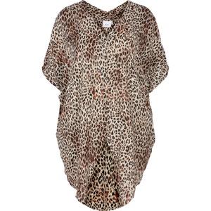 Long Leopard Print Tunic ZIZZI