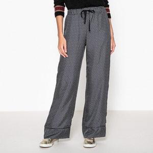 Clarisse Wide Leg Silk Trousers MOMONI