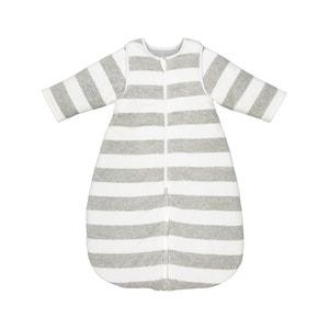 Saco de bebé às riscas, em veludo, 0/9 meses - 12/36 meses R mini
