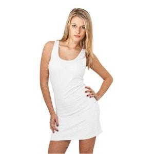 Robe sans manche en coton stretch URBAN CLASSICS Blanc URBAN CLASSICS