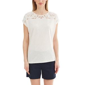 Plain Crew Neck T-Shirt ESPRIT
