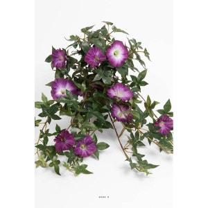 Ipomee liseron artificiel retombant en pot H 40 cm superbes fleurs Mauve violet - couleur: Mauve violet ARTIFICIELLES