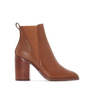 Boots in leer Lack JONAK