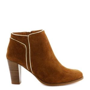Boots cuir talon haut VIMIA VEL COSMOPARIS