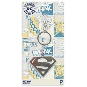 DC Universe -  Porte clef métal Superman Logo SD TOYS