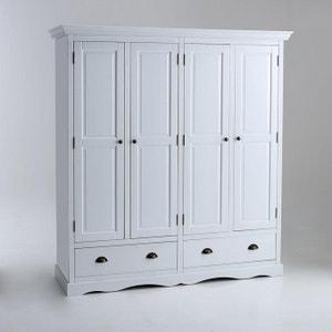 Authentic Style 4-Door Cupboard La Redoute Interieurs
