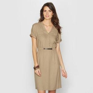 Платье из струящейся ткани, 100% вискозы ANNE WEYBURN