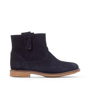 Boots croûte de cuir 26-39 La Redoute Collections