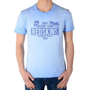 Tee Shirt Redskins Junior Stanford Jersey Bleu REDSKINS