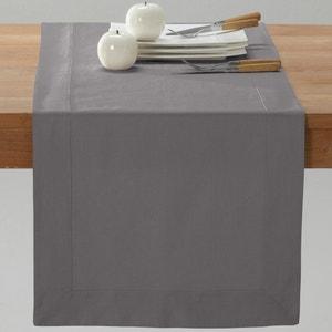 Camino de mesa de retor de lino/algodón BORDER