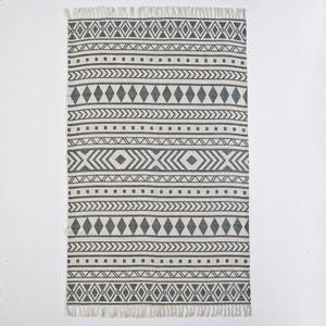Bedruckter Teppich Dyrole aus Baumwolle La Redoute Interieurs