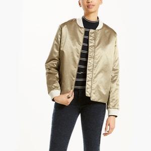 Faux Leather Bomber Jacket LEVI'S