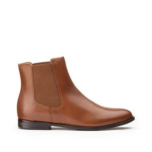 Chelsea boots in leer