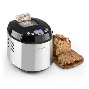 Klarstein Brotilde Machine à pain automatique écran LCD 650W - inox KLARSTEIN