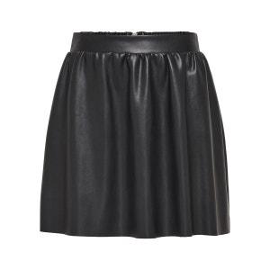 jupe en cuir noir femme la redoute. Black Bedroom Furniture Sets. Home Design Ideas