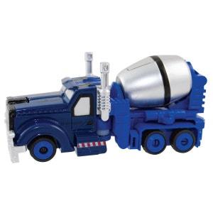 Véhicule transformable en robot couleur bleu IMAGINARIUM