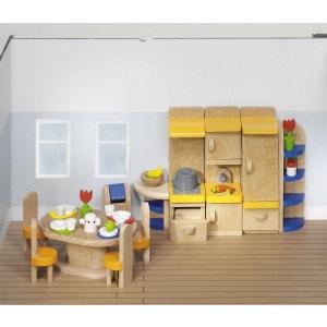 Maison de poupées : Mobilier cuisine (complète) GOKI
