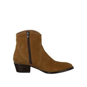Boots cuir façon santiag 25354-37 TAMARIS
