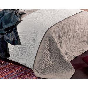 chemin de lit beige la redoute. Black Bedroom Furniture Sets. Home Design Ideas