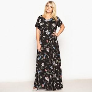 Floral Print Maxi Dress CASTALUNA