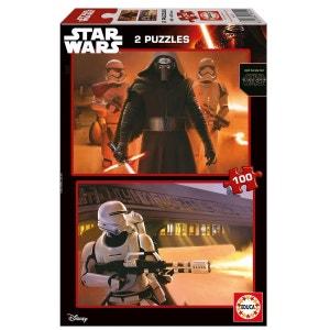 Star Wars VII : Le Reveil De La Force - Puzzle 2x100 - EDU16521 EDUCA