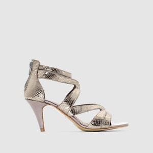 Snakeskin Print Sandals ANNE WEYBURN