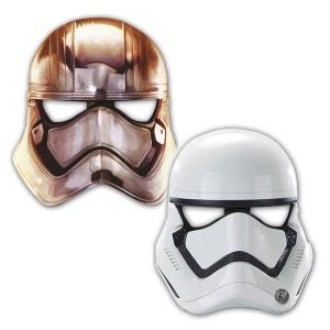 Masques Star Wars en papier x 6 PROCOS