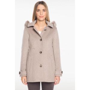 Manteau avec laine à capuche BREAL