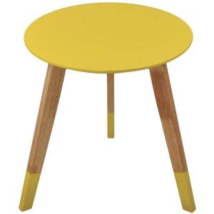 table jaune | la redoute