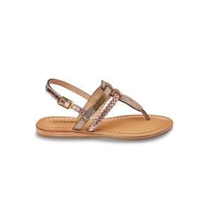 Sandales cuir plates Baraka LES TROPEZIENNES PAR M.BELARBI